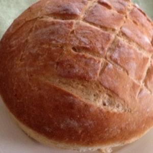 白神こだま酵母でハチミツ入り全粒粉パン