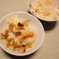 簡単・白だしで作る松茸ごはん