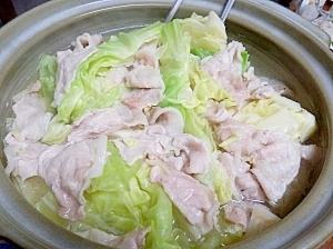 超シンプル・キャベツ鍋・キャベツ大量消費のレシピ