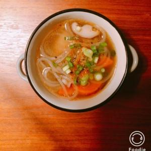水餃子の具沢山スープ