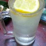 ハチミツレモンサワー【お疲れさまに☆この1杯】