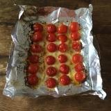簡単おつまみ!プチトマトのマヨネーズ焼き