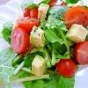 ルッコラとアボカドのサラダ