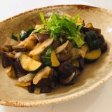 醤油味が食べやすい♬和風ラタトゥイユ