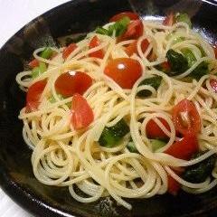 プチトマトのスパゲティ