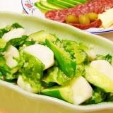 かぶときゅうりとレタスのサラダ