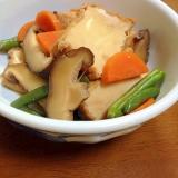 厚揚げと干し椎茸の煮物