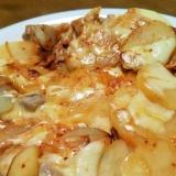 ポテトのチーズタッカルビ焼