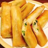 ズッキーニとサラダチキンのチーズ春巻き☆