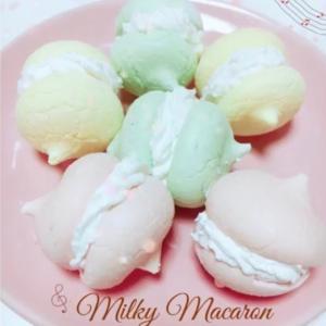 マカロン〜ミルキークリーム〜