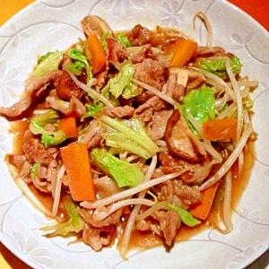 青森のたれで☆肉野菜炒め。