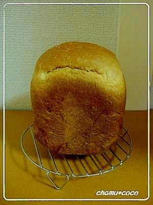 ホームベーカリーにお任せ!オリゴ糖入りパン