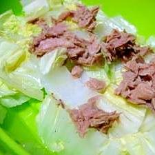 シリコンスチーマーで簡単!ツナうま蒸し〜白菜編