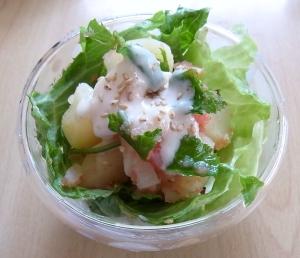 ポテトと明太子のヨーグルトドレッシングサラダ