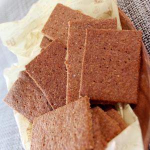 ココナッツオイルと小麦ふすまの塩ショートブレッド