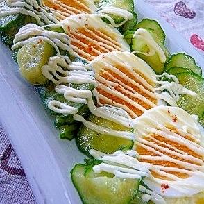 ❤ 簡単! ゆで卵&胡瓜のサラダ ❤