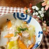 白菜のトロトロ中華丼