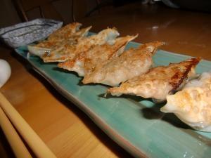 カリカリ餃子