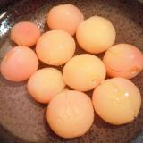 さくらんぼの甘煮