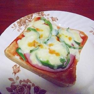 簡単ピザトースト