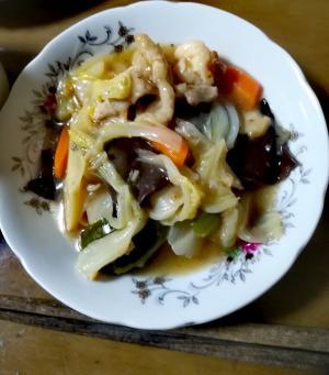 野菜たっぷり!!八宝菜