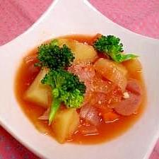 野菜たっぷりトマトシチュー