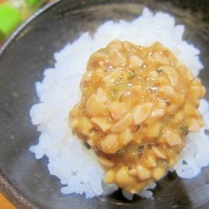 ひきわり納豆御飯