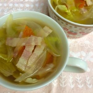 レタスシャキシャキスープ