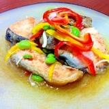 夏野菜と鮭の南蛮漬け