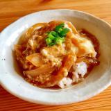 麺つゆで簡単に☆たまご丼