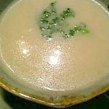あったかふわふわ豆乳とかぶのポタージュスープ♪
