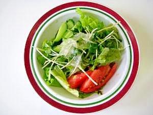 無添加 グリーンサラダ