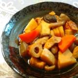 タケノコとこんにゃくの色々煮物①