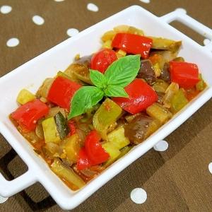 カポナータ(夏野菜のトマト煮)