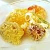 揚げたてが美味しい!「天ぷらの盛り合わせ」献立