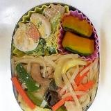 幼稚園弁当<保温>対策⑫…初めての麺のお弁当