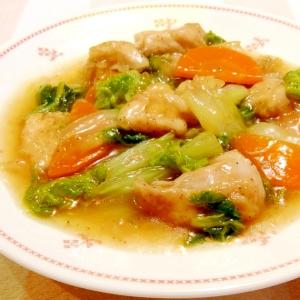 白菜と鶏肉の中華風うま煮