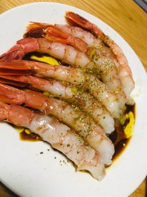イタリアン&和コラボ 海老カルパッチョ