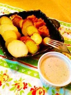 ほくほく秋野菜のバーニャカウダ