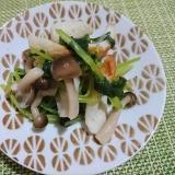 優しい副菜☆三つ葉と竹輪の煮浸し
