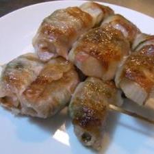 蓮根嫌いにも好評!豚バラ肉の蓮根巻き(梅&シソ味)