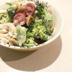栄養たっぷり*ブロッコリーとささみのサラダ