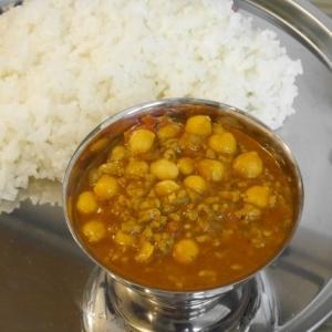 豆好きのための☆ひよこ豆のスパイシーカレー