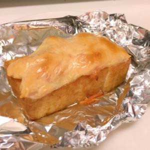 あつまみにもぴったり 簡単 厚揚げ鮭マヨチーズ焼き