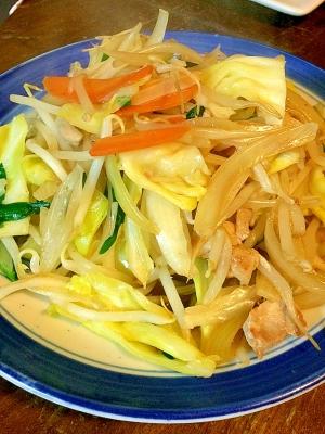 鶏肉で☆野菜炒め
