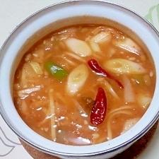 辛味噌納豆うどん++
