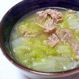 超簡単☆豚肉と白菜の鶏ガラスープ煮