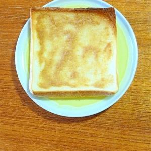 エキストラバージンココナッツオイルでパン耳おやつ♪