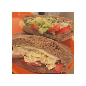 超簡単!プロテインでふわふわサンドイッチ!