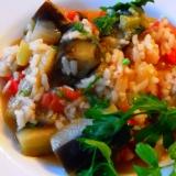 トルコ料理★茄子の煮物(パトルジャン・ジヴェ)